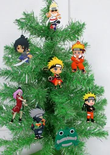 naruto christmas tree ornament