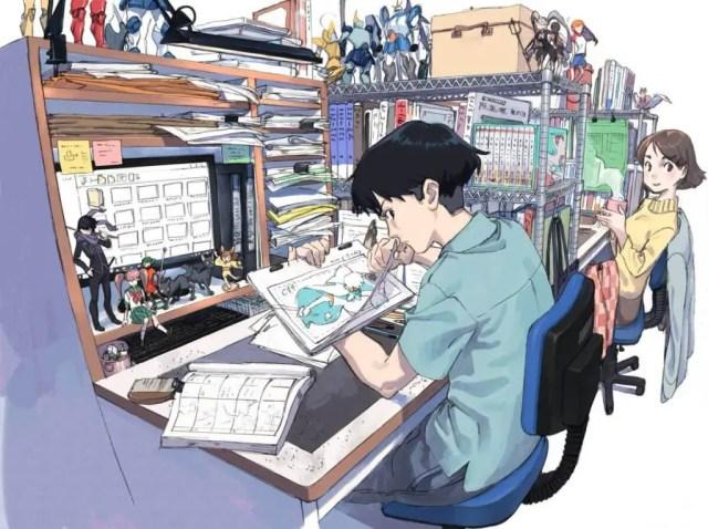Process of creating anime