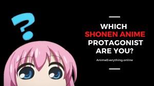 shonen anime personality quiz