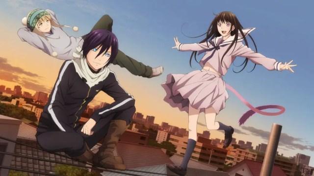 noragami - anime like Jujutsu Kaisen