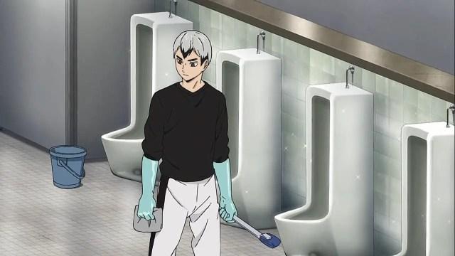 kita cleaning ritual - Haikyuu