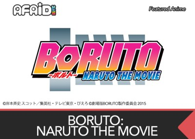 Featured Anime: BORUTO: NARUTO THE MOVIE