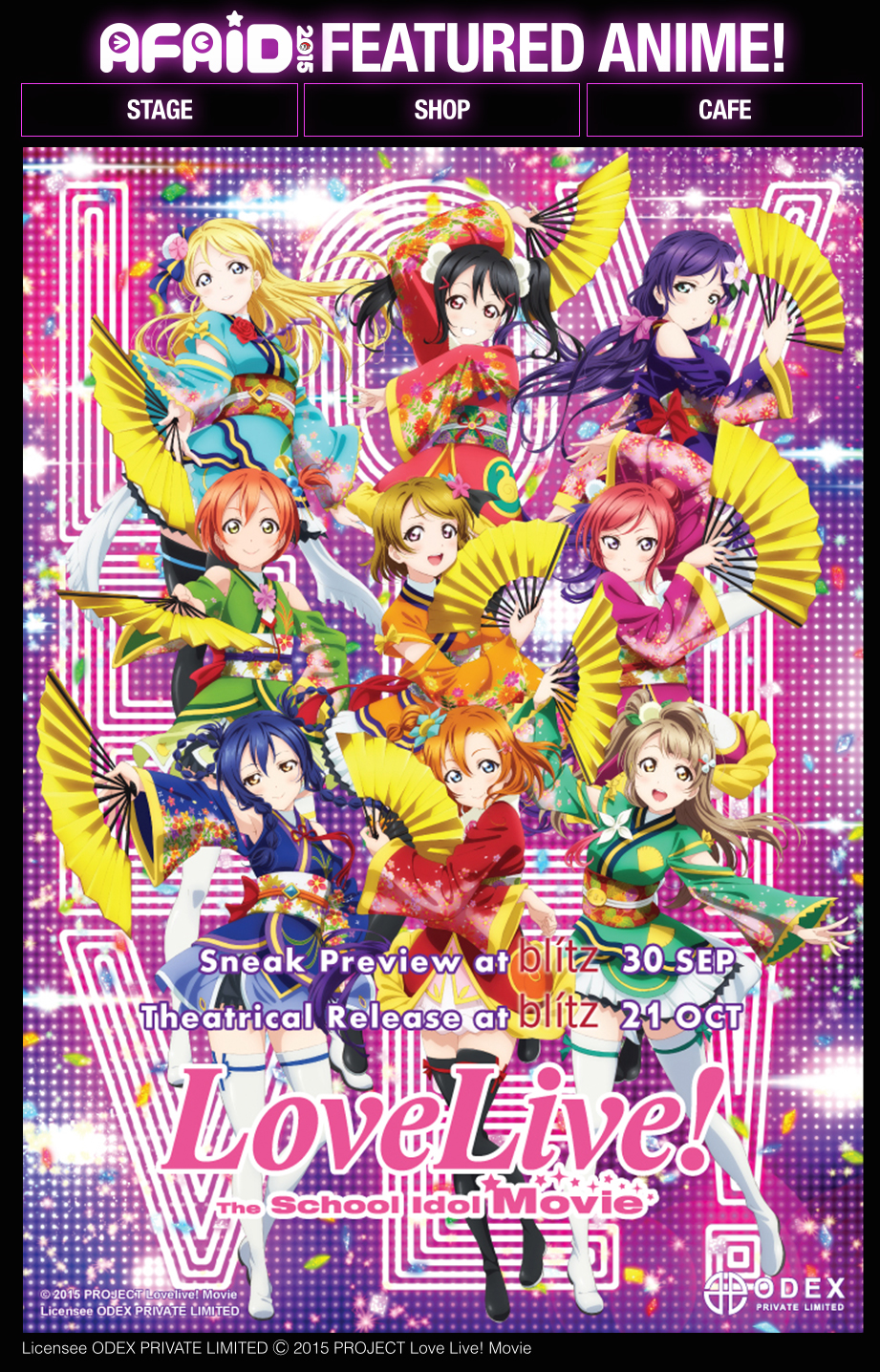 Featured Anime Love Live The School Idol Movie