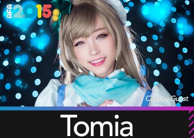 Featured Cosplayer – Tomia