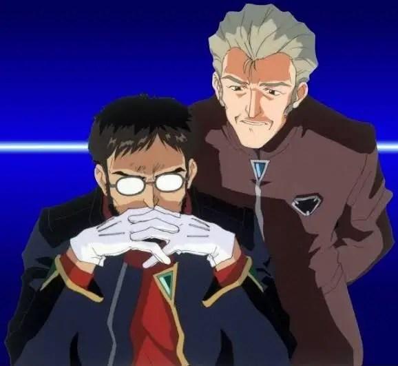 Fuyutsuki And Gendo