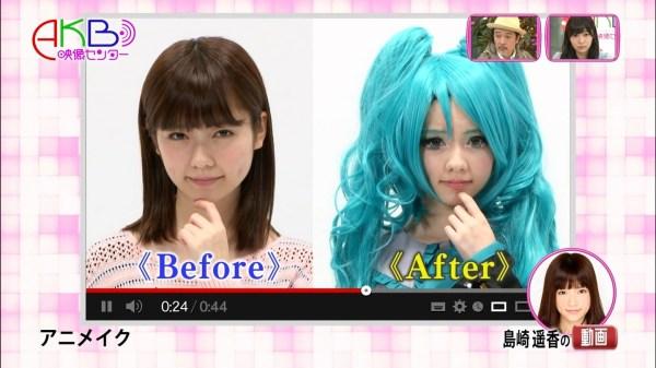 AKB48 efterligner Hatsune Miku