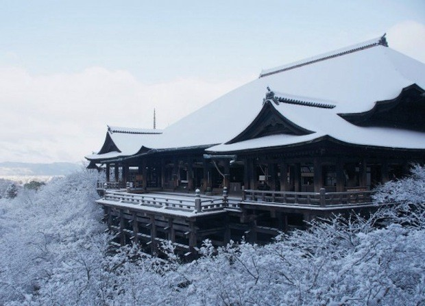 Kølig Kiyomizu-dera