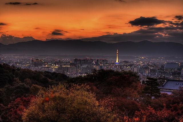 Udsyn fra Kiyomizu-dera