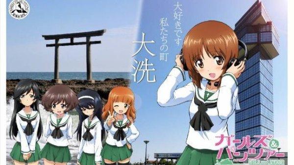 Japanarne kan sende søde piger og tanks med brevene