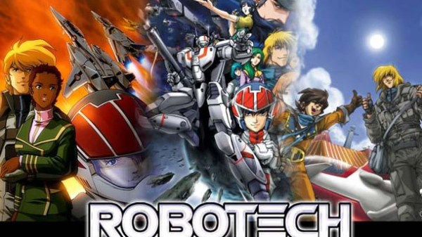 Sony laver live action Robotech film