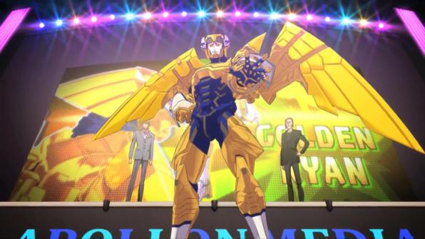 2. Tiger & Bunny Movie: The Rising