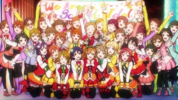 9. Love Live! The School Idol Movie