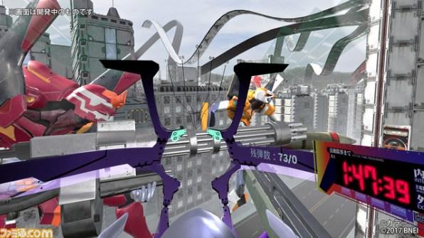 Evangelion VR oplevelse lader dig komme i pilotsædet [GIF: Famitsu]