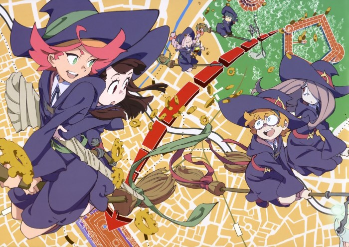 8. Little Witch Academia