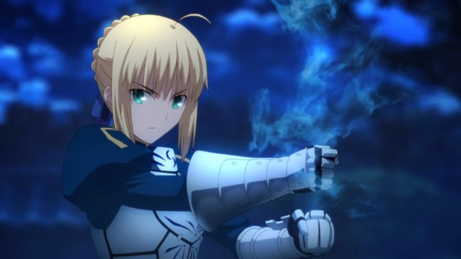 2. Saber (Fate/stay night: Unlimited Blade Works)