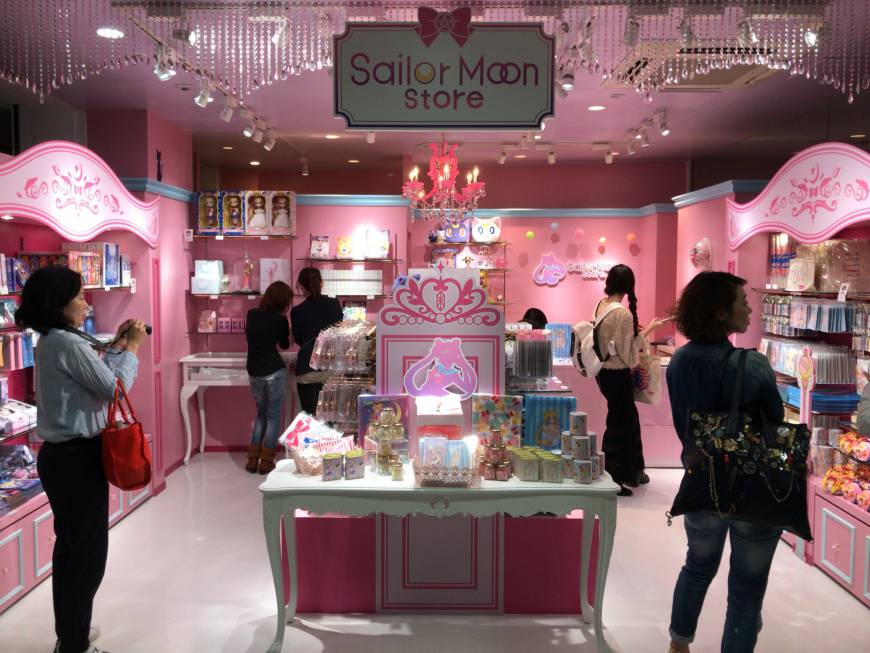 First permanent Sailor Moon store opens in Harajuku