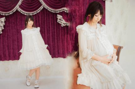Lolita ventetøj lader en beholdet et piget udseende
