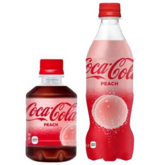 Fersken Coca-Cola kommer til Japan