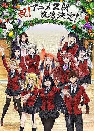 """""""Kakegurui"""" gambling anime serien får en anden sæson"""