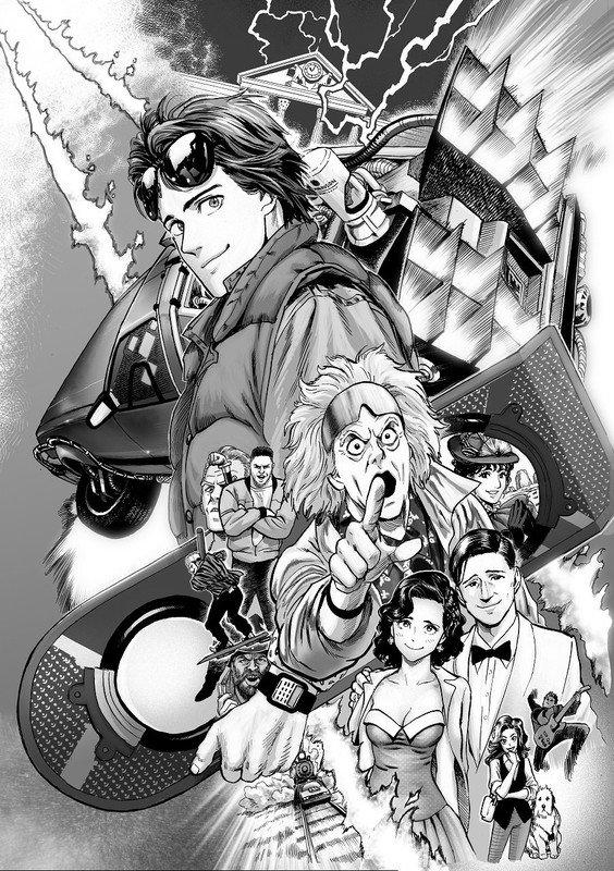 """One Punch Man"" kunstner Yuusuke Murata laver manga baseret på ""Back to the Future"" film"