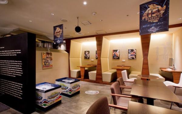 Kæmp over alkohol på Tokyos Beyblade Bar
