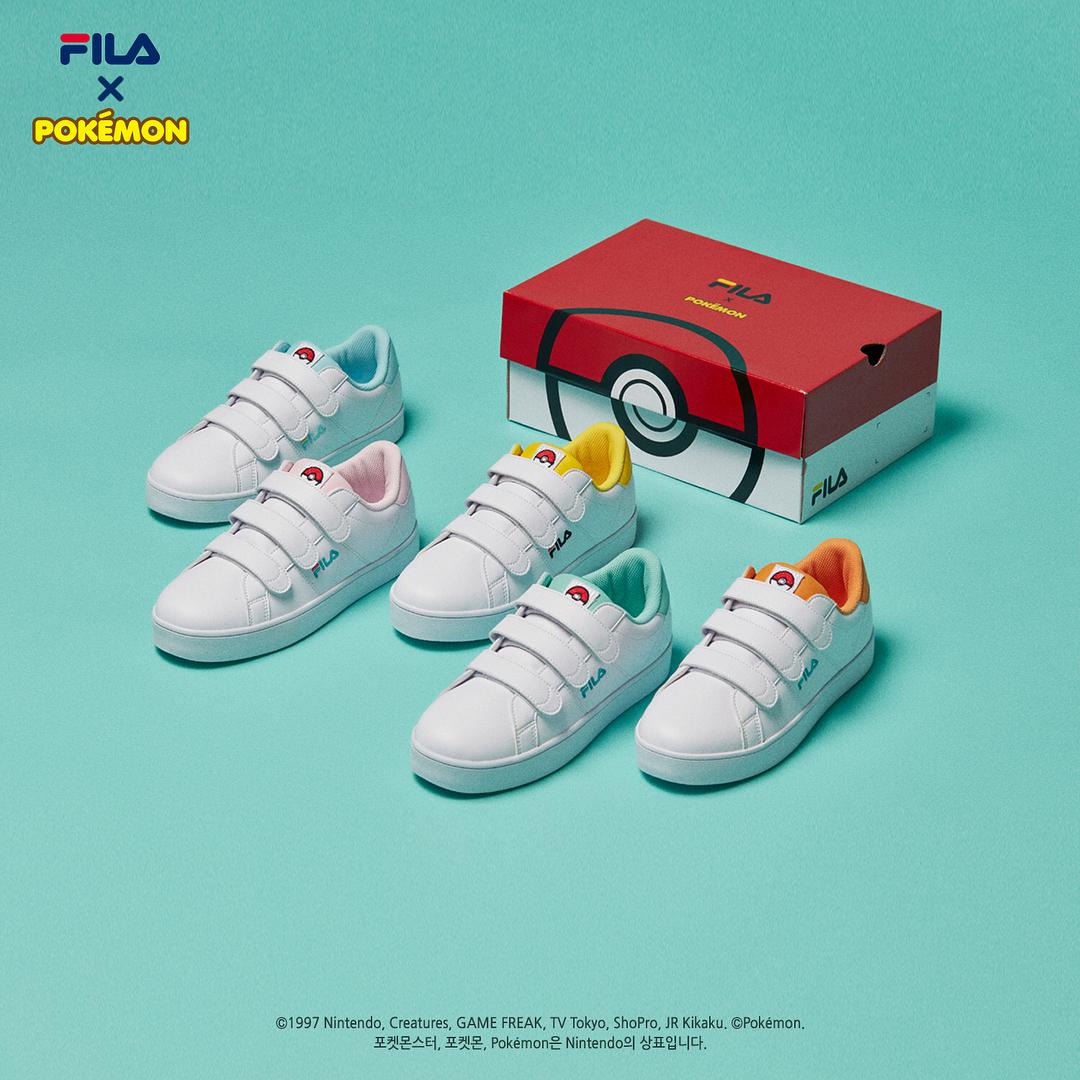 Fila sælger Pokémon sneakers i Sydkorea