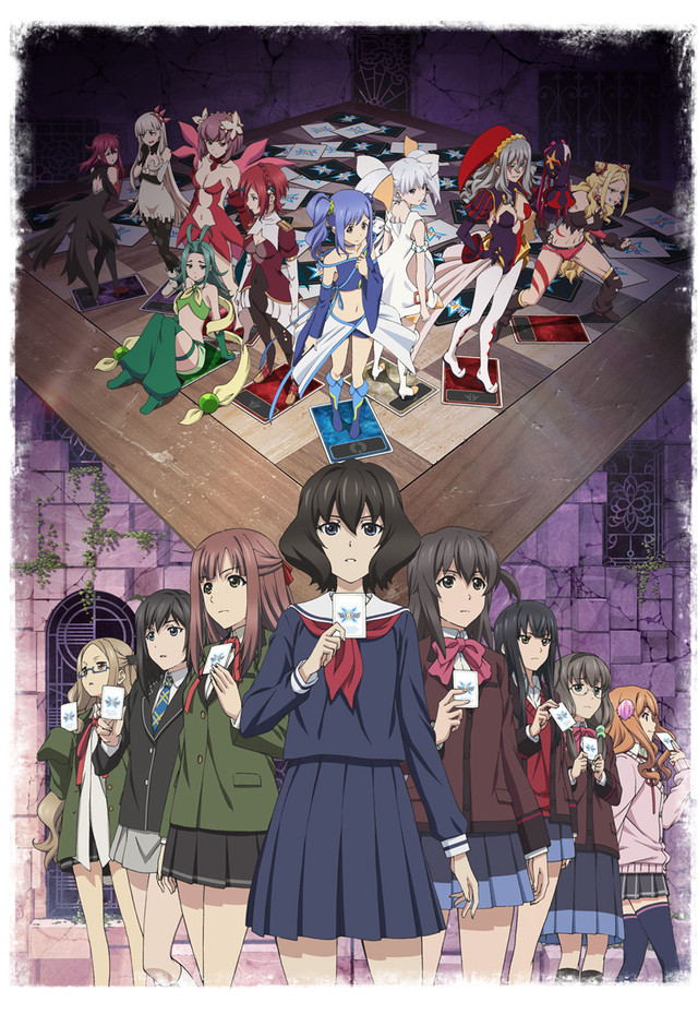 Lostorage conflated WIXOSS TV Anime Trailer og Info