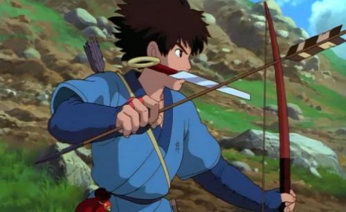 1. Ashitaka - Princess Mononoke - 554