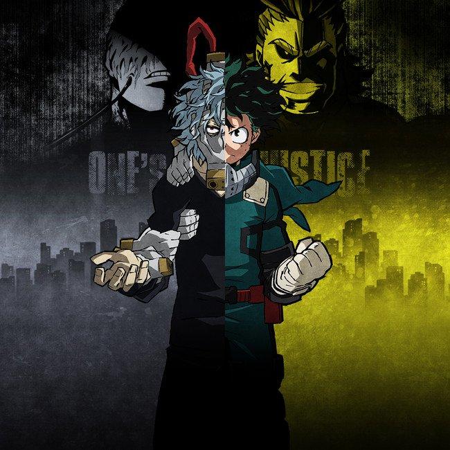My Hero Academia: One's Justice spil reklame fremviser spilbare personer