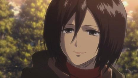 6. Mikasa Ackerman (Attack on Titan)