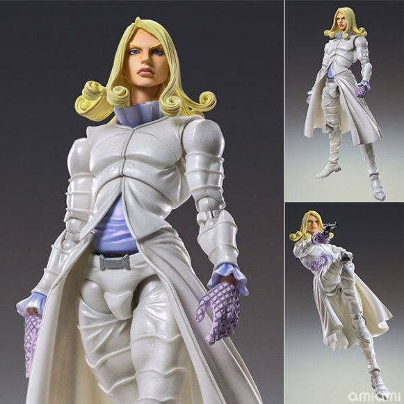 Super Action Statue - JoJo's Bizarre Adventure Part.VII Steel Ball Run: Funny Valentine