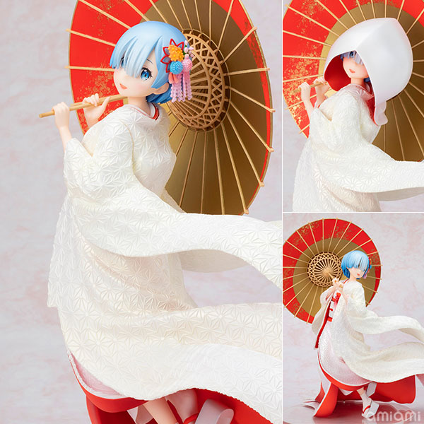 Re:ZERO -Starting Life in Another World- Rem -Shiromuku- 1/7 Figur