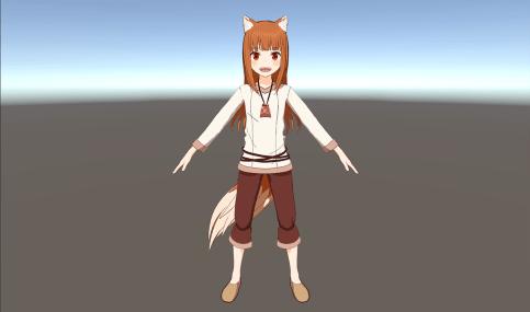 Spice and Wolf VR projekt viser Holo 3D model frem