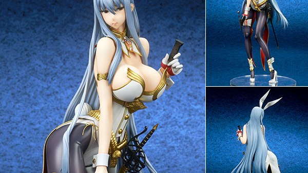 Valkyria Chronicles Selvaria Bles Bunny Spy Ver. [Event Exclusive Royal White] 1/7 Figur