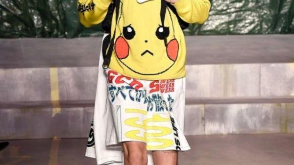 Pokémon blev fremvist på Milan Fashion Week