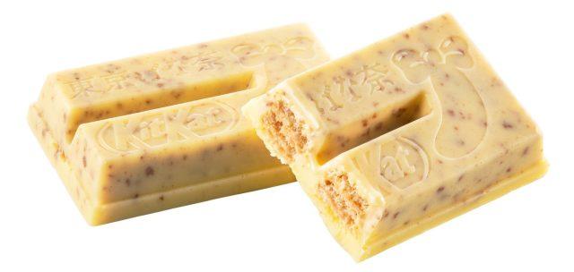Japansk Kitkat Med Premium Tokyo Banana Og Knust Pandekage Smag
