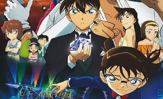 Detective Conan Movie 23: The Fist of Blue Sapphire billede