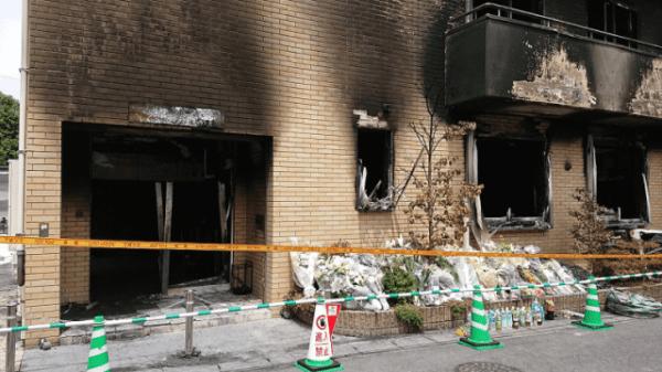 Kyoto Animation modtog roman fra brandstifteren