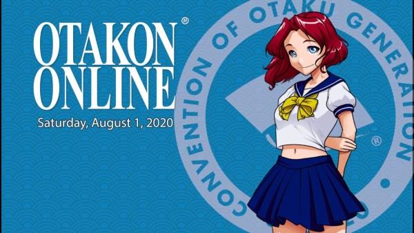 Otakon holder online event den 1. august