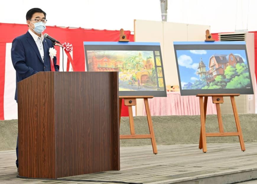 Byggeriet af Ghibli forlystelsesparken er begyndt | KYODO