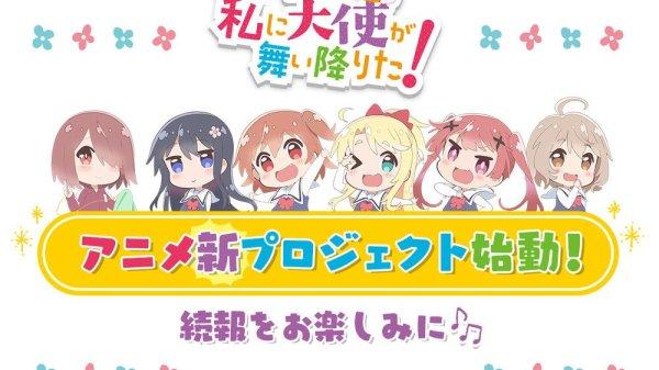 WATATEN!: an Angel Flew Down to Me franchisen får nyt anime projekt