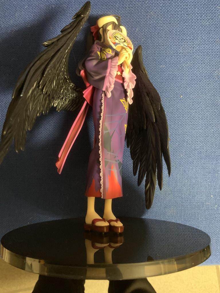 Overlord - Ainz og Albedo i yukata onsen outfits figurer