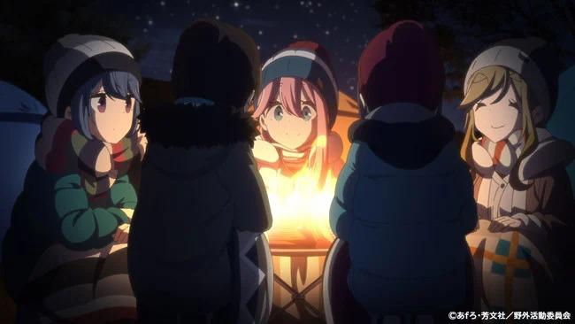 Laid-Back Camp anime får en ny OVA den 28 juni