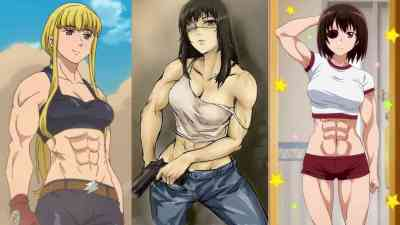 Top 10 Ripped Anime Girls