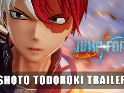 Jump Force Game Gets Switch Version, DLC Character Shoto Todoroki