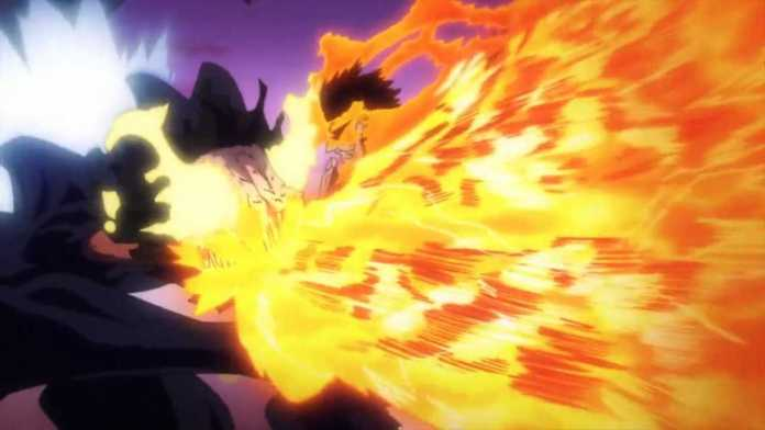 The Moment Endeavor Truly Becomes #1   My Hero Academia
