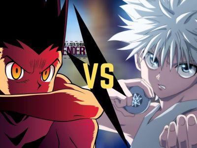 Gon VS Killua _ Hunter X Hunter