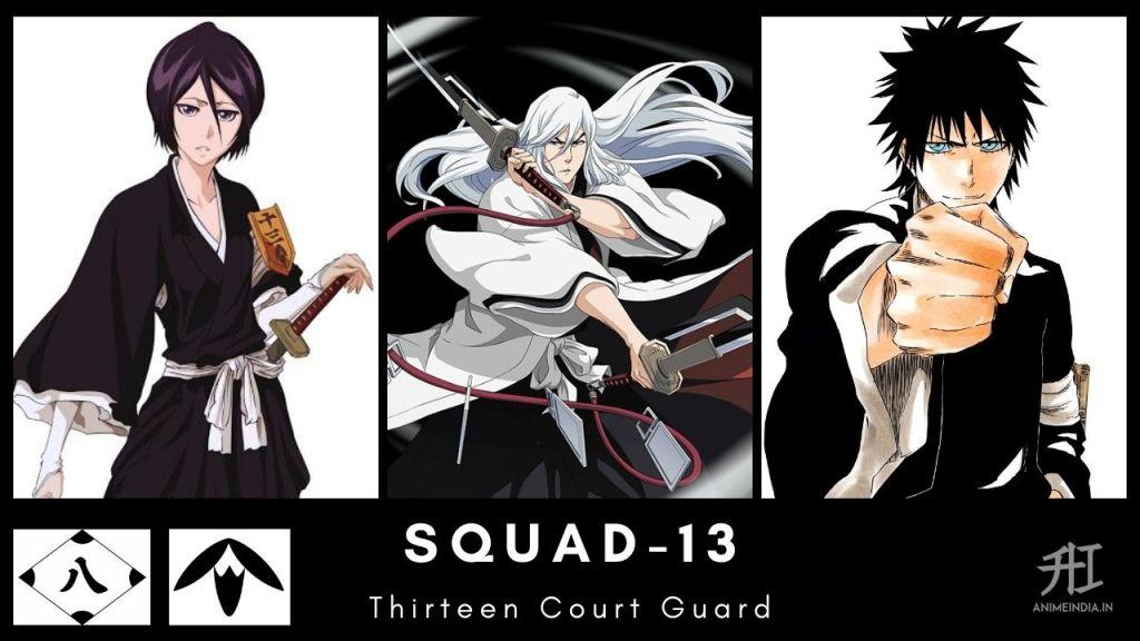 Squad-13 Thirteen Court Guard - Bleach
