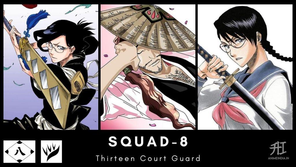 Squad-8 Thirteen Court Guard - Bleach