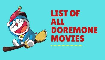 List of All Doraemon movies